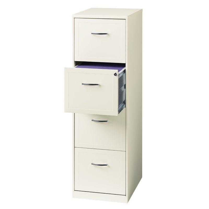 Hirsh SOHO 18 in Deep 4 Drawer Vertical File Cabinet in ...