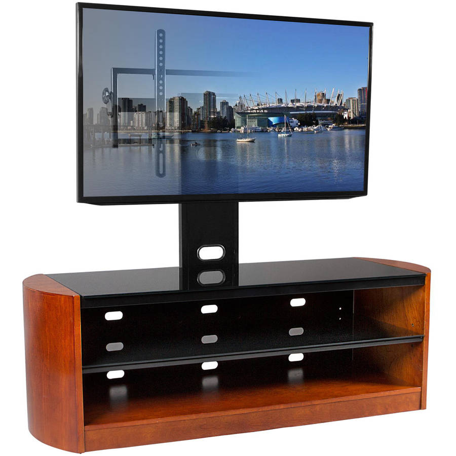 Kanto MIRAGE 68 Plus TV Stand with Tilt and Swivel Mount for Displays up to 80""