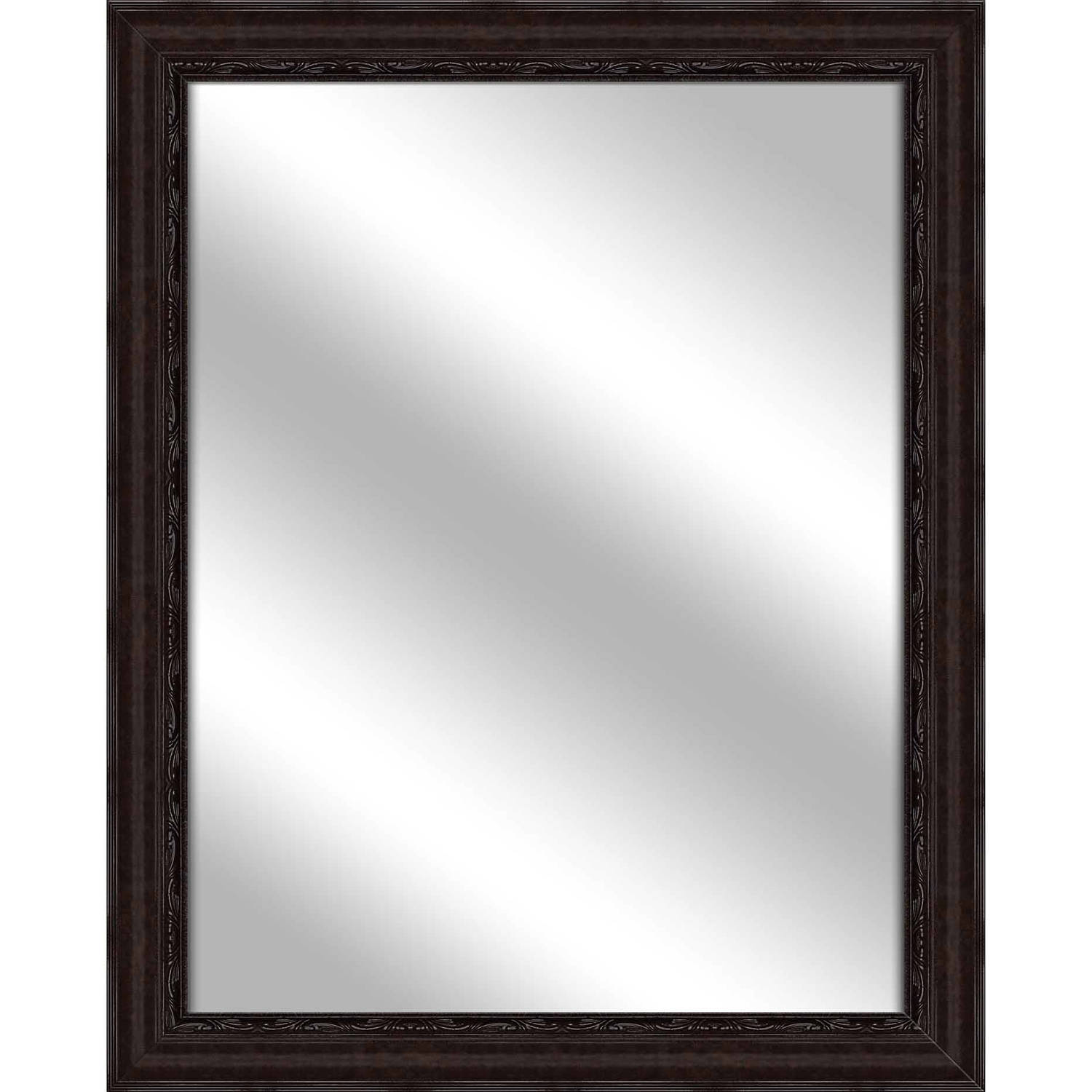 Vanity Mirror, Dark Bronze, 25.75x31.75 by PTM Images