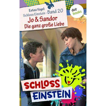 Schloss Einstein - Band 20: Jo & Sandor - Die ganz große Liebe - eBook - Die Kleinen Einsteins Halloween