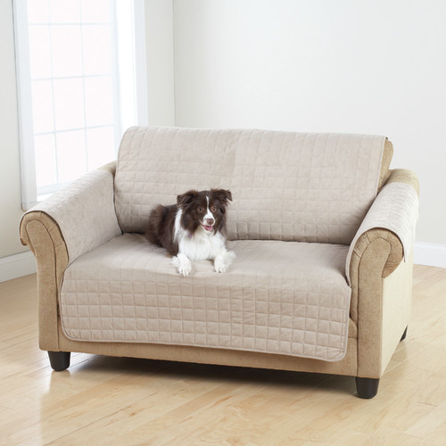 Sure Fit Box Cushion Loveseat Slipcover