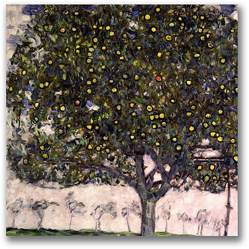 "Trademark Fine Art ""The Apple Tree"" Canvas Wall Art by Gustav Klimt"