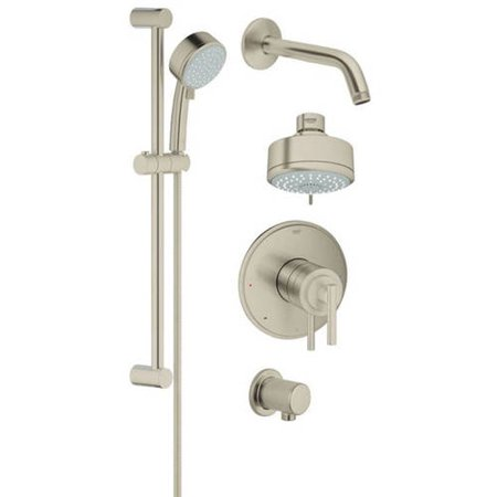 Grohe 35055000 GrohFlex Shower Trimset, Available in Various Colors