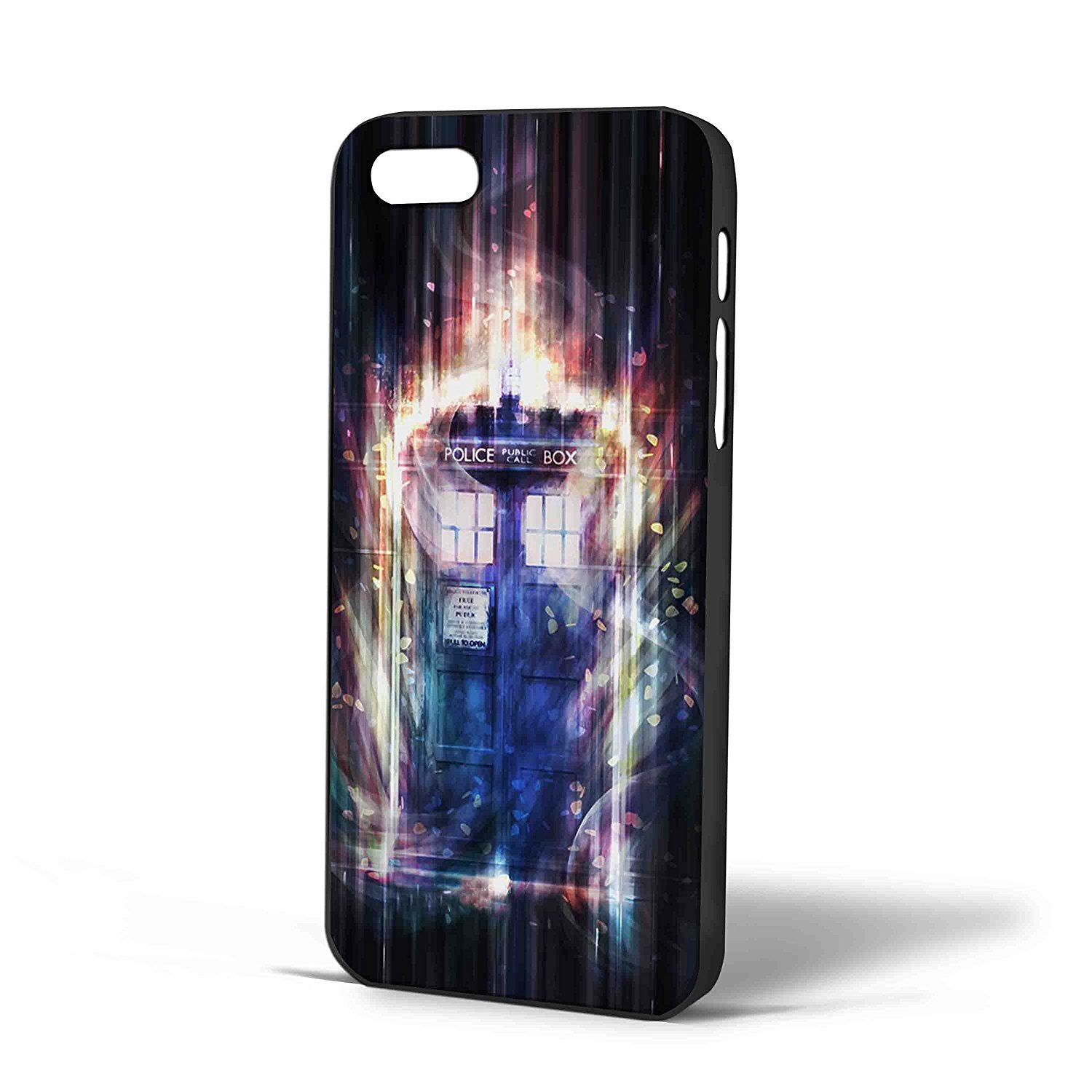 Ganma tardis Dr who fullcolor Case For iPhone Case ( Case For iPhone 5/5s White)
