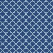"Waverly Inspirations Cotton Duck 45"" MEDALLION BLUE Fabric, per Yard"