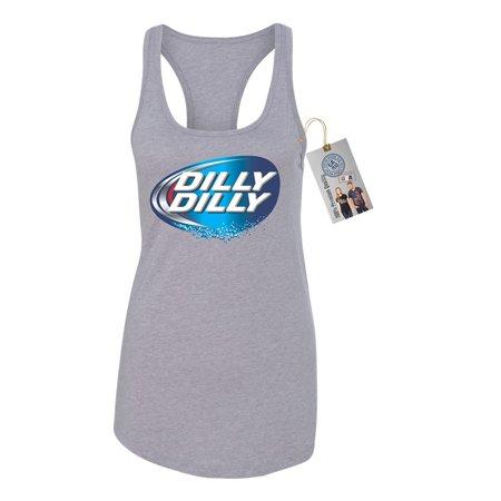 e82a6459ca337 Dilly Dilly Beer Shirt Womens Racerback Tank Top - Walmart.com