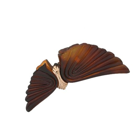 CARAVAN® TORTOISE SHELL WINGS ACCENTED WITH GOLD DECORATION COMBING A WONDERFUL HAIR