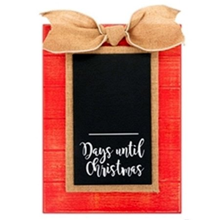 Countdown To Christmas Sign.Countdown To Christmas Sign With Chalkboard