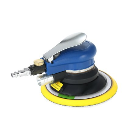 6 Inches 10000RPM Dual Action Pneumatic Air Sander Car Paint Care Tool Polishing Machine Electric Woodworking Grinder (Best Astro Pneumatic Tool Dual Action Polishers)