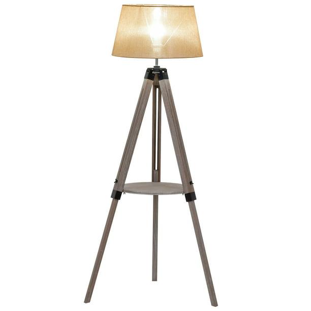 Homcom Multifunctional Floor Lamp With, Tripod Spotlight Floor Lamp Aldi