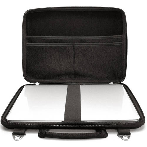 "Drive Logic DL-MBPR-11 Hard Carrying Case for 11"" MacBook Air and 11.6"" Chromebook Models, Black"