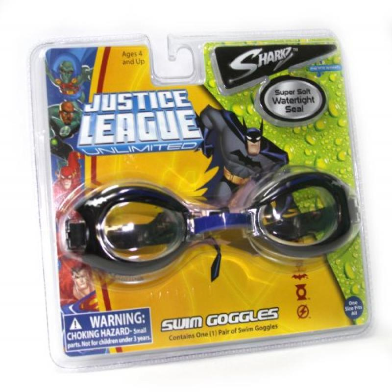 Justice League Super Soft Swim Goggles by