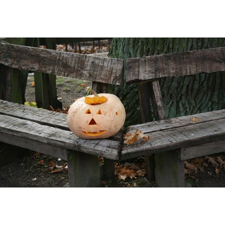 31 Halloween Pumpkins (LAMINATED POSTER Orange 31 October Halloween Pumpkin Autumn Poster Print 24 x)