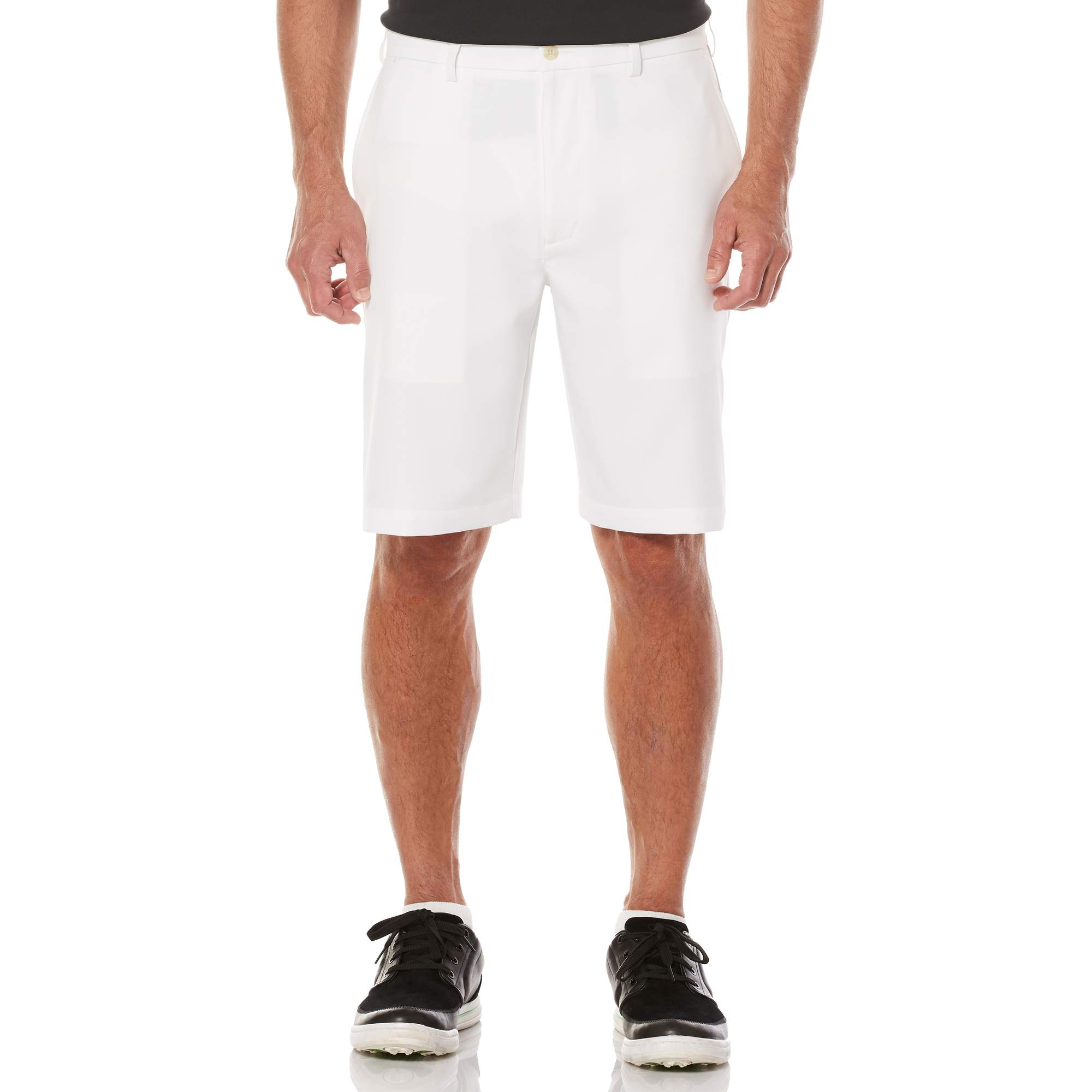 Men's Performance Flat Front Active Flex Waistband Four Way Stretch Golf Shorts by