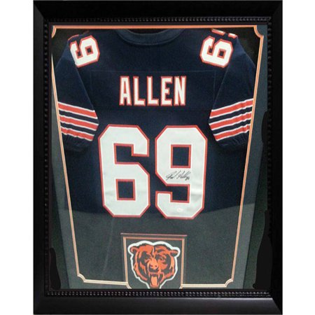 36x44 Autographed Jersey Frame, Jared Allen Chicago Bears