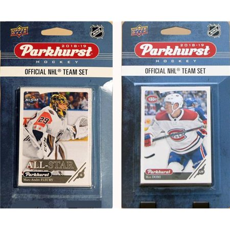C&I Collectables 18CANADIENSTS NHL Montreal Canadiens 2018-19 Parkhurst Team Set & an All-star set - image 1 of 1