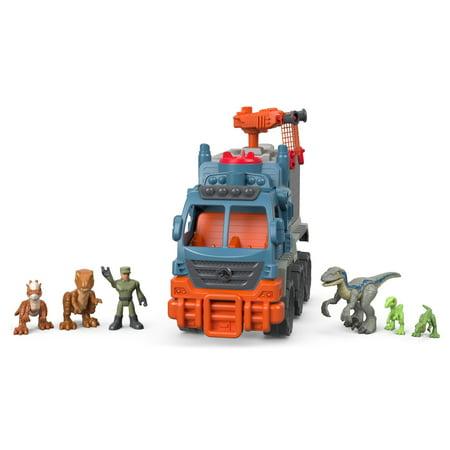 Imaginext Jurassic World Dinosaur Hauler Gift Set