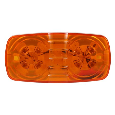 All Halloween Eve Trailer (12V 10 LEDs Tiger Eye Shape Double Bullseye Marker Light Clearance Lamp for Trailer)