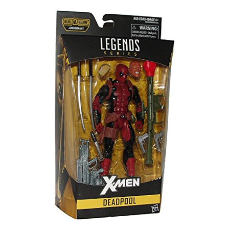 marvel legends x-men deadpool 6 inch action figure baf juggernaut series