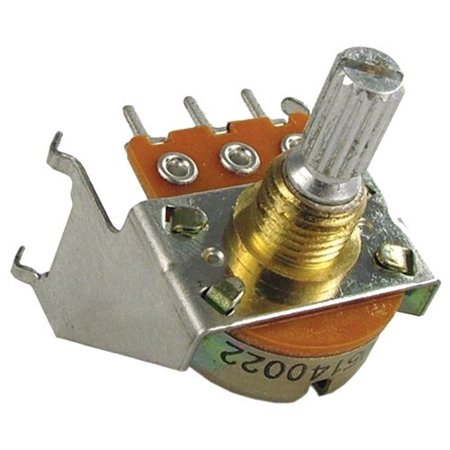 Potentiometer - 250K Audio with Bracket By