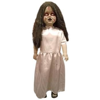 Standing Zombie Girl Prop Halloween Decoration (Halloween Forum Props)