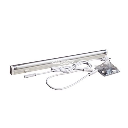 High Output Fluorescent Fixtures - 2 ft.T5 High 1-Bulb Output Fluorescent Grow Light Fixture, Light weight and easy to install^Offers an energy efficient high output ballast for.., By ViaVolt