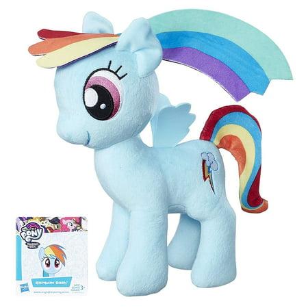 (Friendship is Magic Rainbow Dash Soft Plush, Soft and huggable body By My Little Pony)