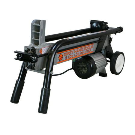 Dirty Hand Tools 5 Ton Electric Horizontal Log (Dirty Hand Tools 35 Ton Gas Log Splitter)