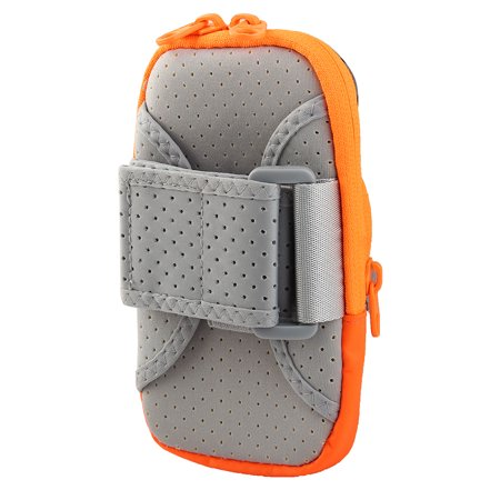 Wellhouse Authorized Phone Holder Adjustable Running Sports Arm Bag Orange M - image 3 of 4