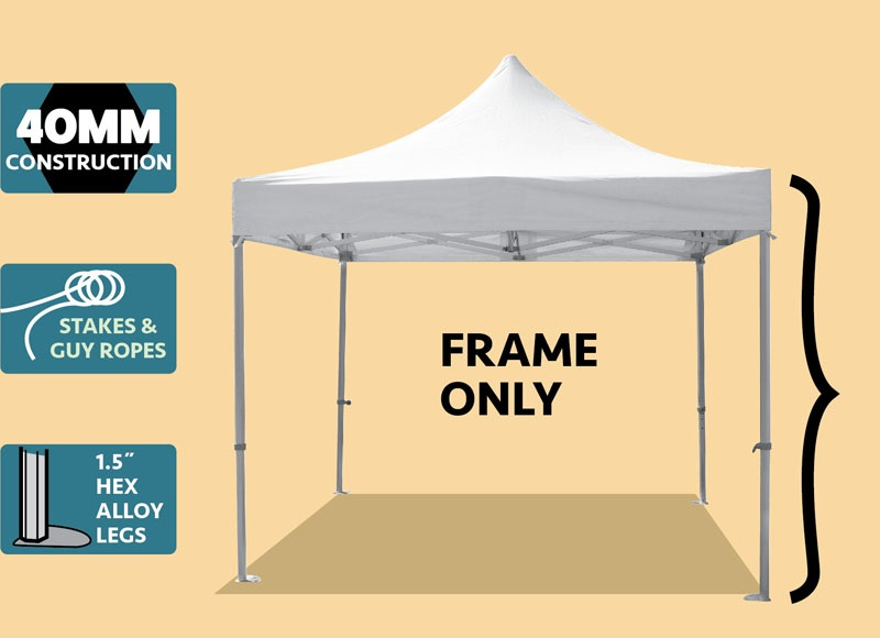 Party Tents Direct Speedy Pop Up Canopy Event Tent Frame ONLY Various Sizes  sc 1 st  Walmart & Party Tents Direct Speedy Pop Up Canopy Event Tent Frame ONLY ...