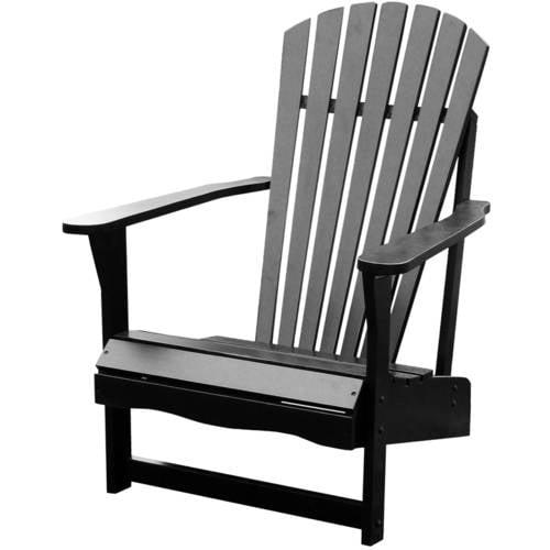 International Concepts Adirondack Chair, Black