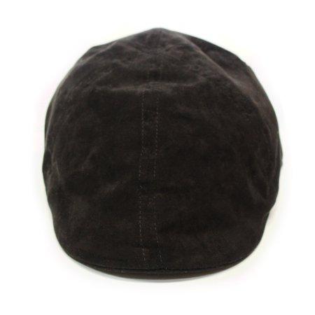 2eb7cb3a8b U.S. Polo Assn. - Black Ivy Suede Flat Cap