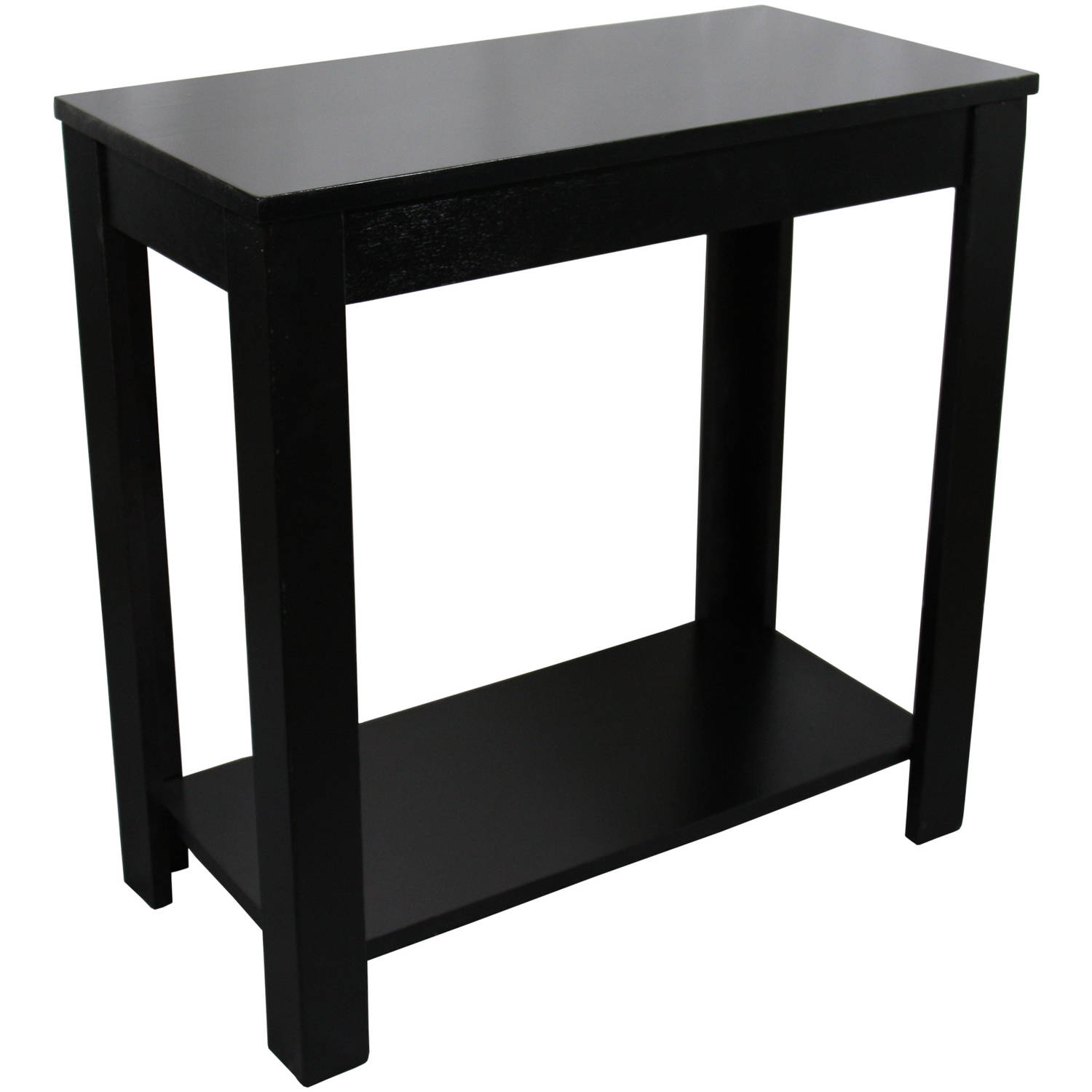 Traditional dark cherry side end table 24 walmart com