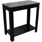 "24"" Black Chair Side Table"