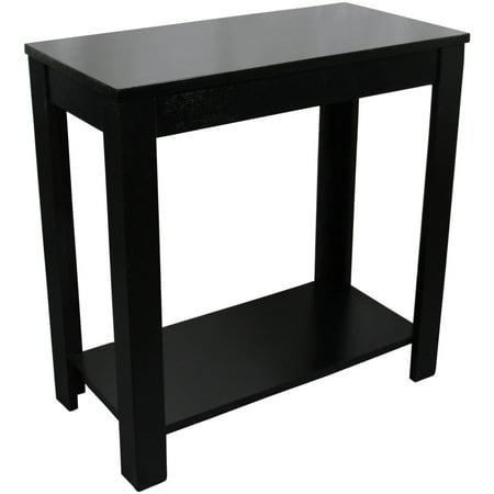 24 black chair side table. Black Bedroom Furniture Sets. Home Design Ideas