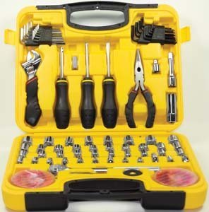 Wilmar Corporation Wlmw1538 Wilmar W1538 Mechanics Product Tool Set, 94-Piece