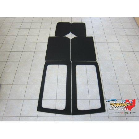 2011-2018 Jeep Wrangler JK 2 Door Hard Top Headliner Insulation Kit Mopar (2013 Jeep Wrangler 2 Door Hardtop For Sale)