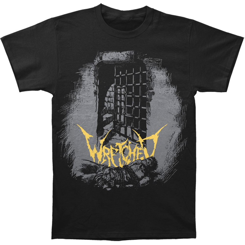 Wretched Men's  Torture Chamber T-shirt Black