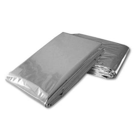 Emergency Solar Blanket Survival Safety Insulating Mylar Thermal Heat Disaster