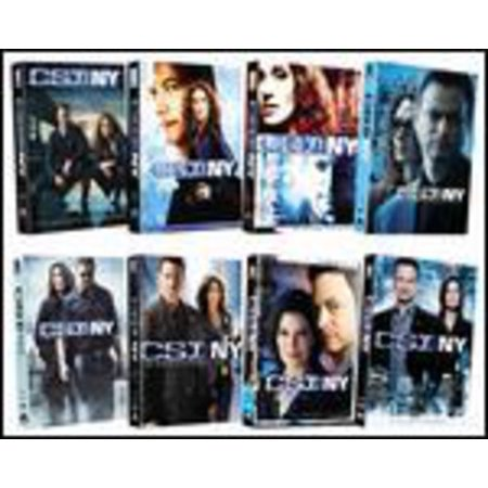Csi  Ny  Eight Season Pack