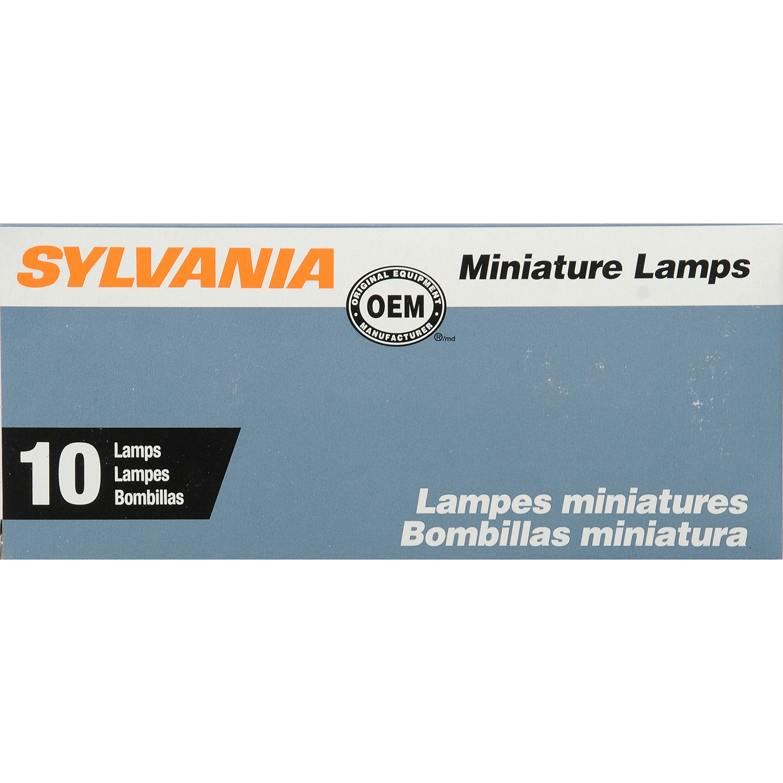 Sylvania 198 Basic Miniature Bulb by Sylvania