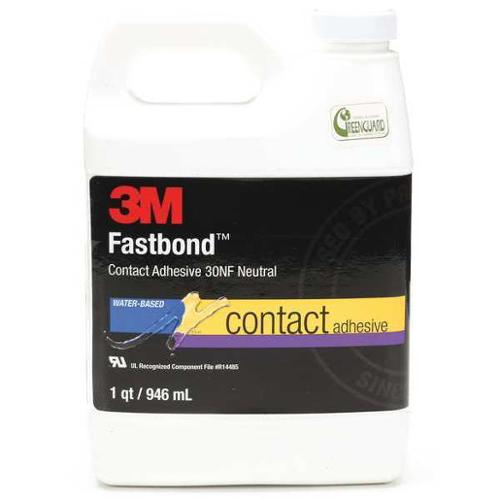 3M 30NF NEUTRAL Adhesive, Contact, 1 Qt