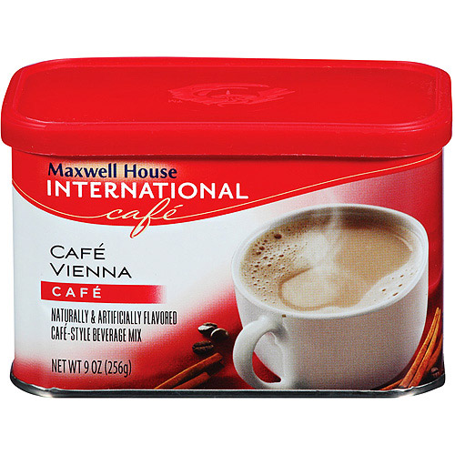 Maxwell House International Cafe Cafe Vienna Cafe-Style Beverage Mix 9 oz. Tub