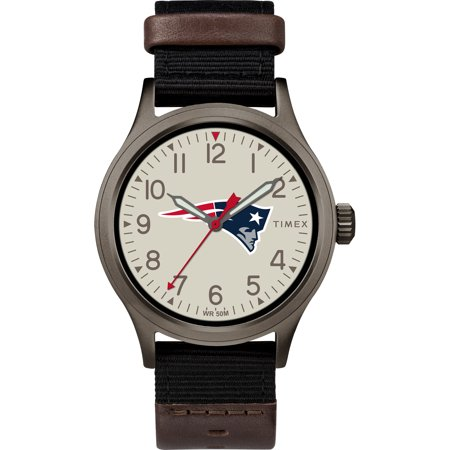 (Timex - NFL Tribute Collection Clutch Men's Watch, New England Patriots)