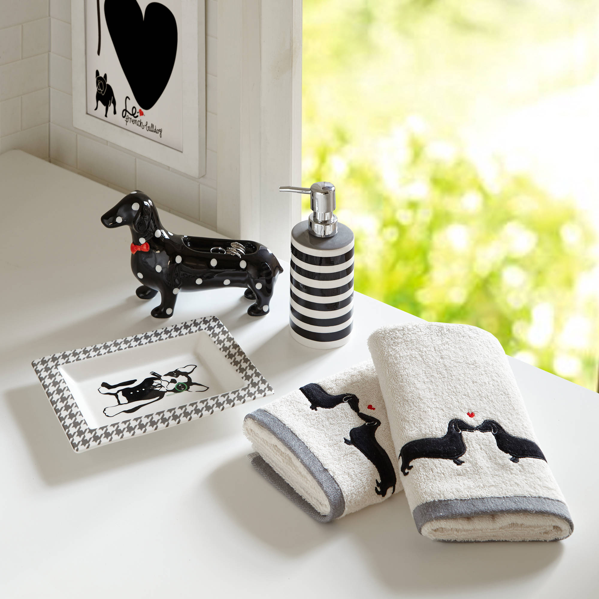 Home Essence Jamie Bath Accessory Set by E&E Co.