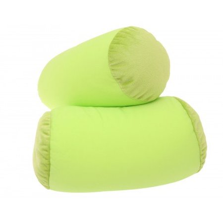Deluxe Comfort Mooshi Squish Microbead Bed Pillow (14u0022 x 7u0022) ? Airy Squishy Soft Microbeads ? Eighteen Fun Bubbly Colors To Choose From ? Cuddly and Fun Dormroom Accessory ? Bed Pillow, Bright Green