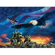Grand Old Flag a 500-Piece Jigsaw Puzzle by Sunsout Inc.