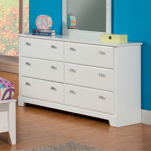 Sandberg Furniture Hailey 6 Drawer Double Dresser