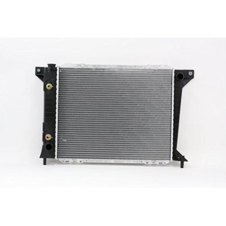 Radiator - Pacific Best Inc For/Fit 1410 88-93 Ford Thunderbird Mercury Cougar Exc.Super Coupe 87-92 Lincoln Continental 3.8/5.0L Plastic Tank Aluminum