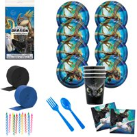 How to Train Your Dragon 3 Deluxe Tableware Kit (Serves 8)